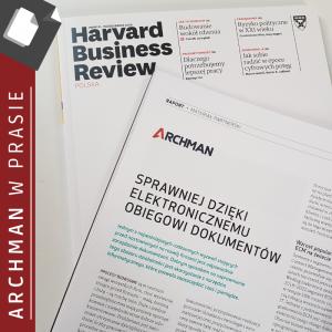 Artykuł firmy Archman w Harvard Business Review
