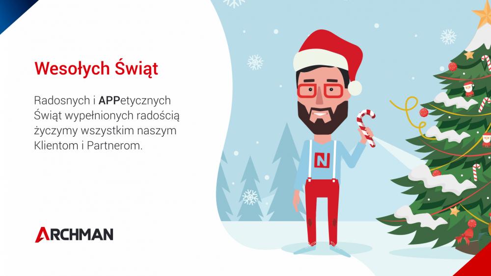 Życzenia Świąteczne od firmy Archman