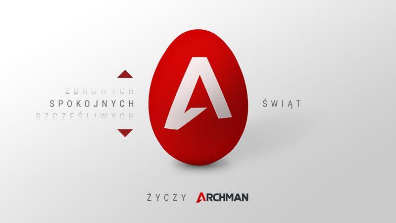 Życzenia od firmy Archman