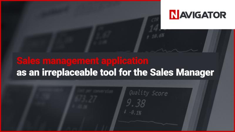 Sales management application | Blog Archman