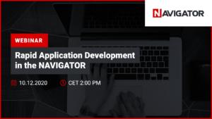 Rapid Application Development in NAVIGATOR | Events Archman
