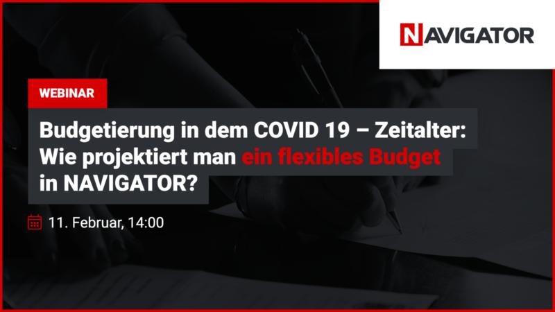 Budgetierung in dem COVID 19 – Zeitalter: Wie projektiert man ein flexibles Budget in NAVIGATOR? | Archman Veranstaltungen