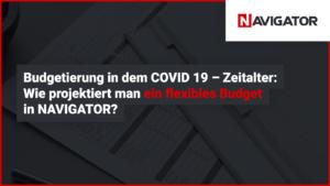 Budgetierung während COVID-19: Wie entwerfe ich ein flexibles Budget in NAVIGATOR | Blog Archman