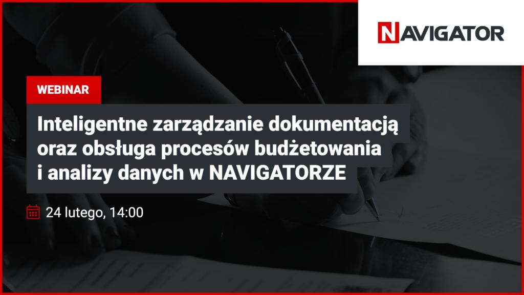 Inteligentne zarządzanie dokumentacją, budżetowanie i analiza danych w NAVIGATORZE | Archman Wydarzenia
