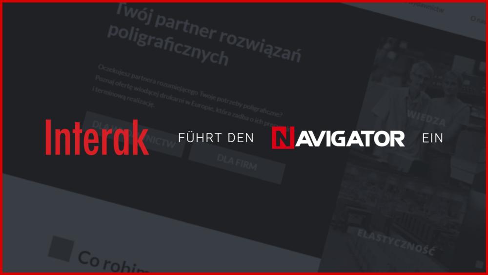 Interak implementiert NAVIGATOR-System | Blog Archman