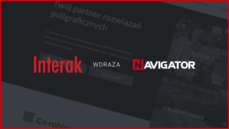 Drukarnia Interak wdraża system NAVIGATOR | Archman Aktualności