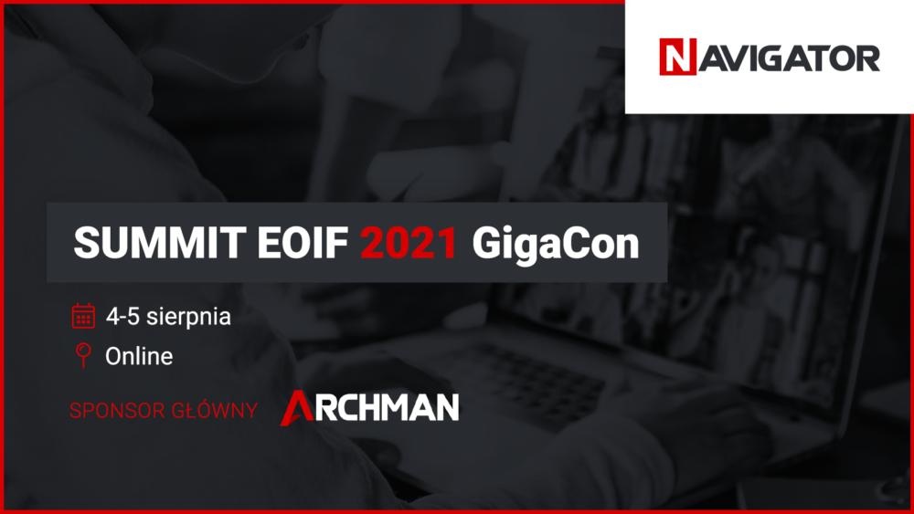 Archman sponsorem głównym SUMMIT EOIF GigaCon 2021 | Aktualności Archman