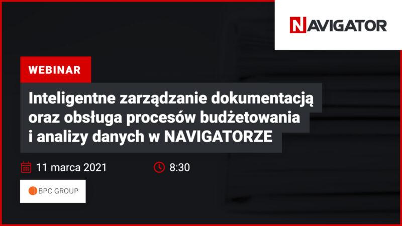 Inteligentne zarządzanie dokumentacją oraz obsługa procesów budżetowania i analizy danych w NAVIGATORZE   Wydarzenia Archman