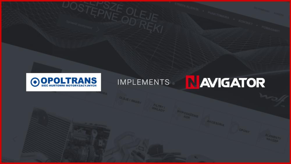 Opoltrans Inc. Implements NAVIGATOR   News Archman