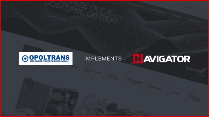 Opoltrans Inc. Implements NAVIGATOR | News Archman