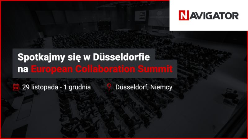 Spotkajmy się na European Collaboration Summit   Archman Wydarzenia