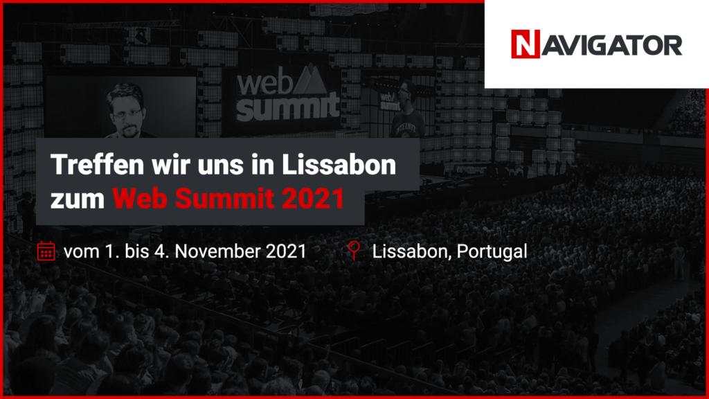 Treffen wir uns in Lissabon zum Web Summit 2021